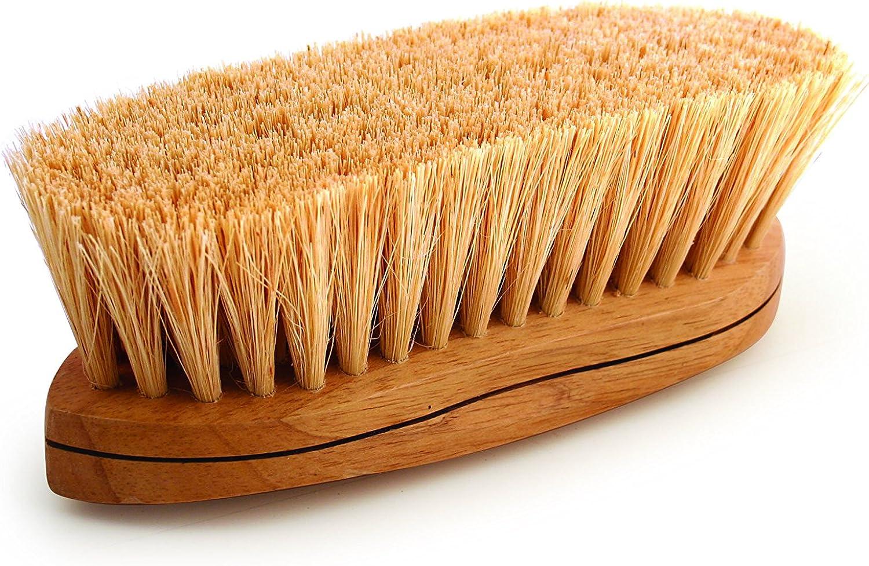 Legends Tampico CurvedBack Grooming Brush  Natural  8 1 4