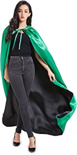 Crizcape Stain Reversible Halloween Christmas Hooded Cape Cloak