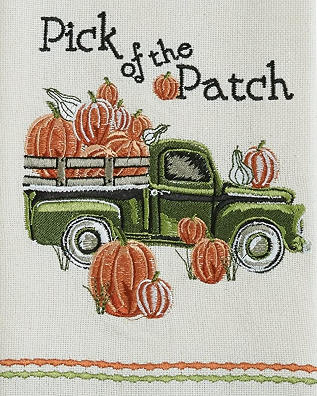 Park Designs Pick Of The Patch Embroidered Dishtowel Kitchen Linen