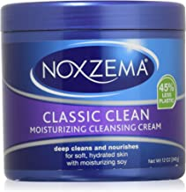 Noxzema Classic Clean Moisturizing Cleansing Cream Unisex, 12 Ounce (Pack of 2)