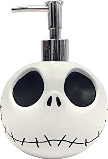 Jay Franco Disney Nightmare Before Christmas Jack Skellington Resin Lotion Pump/Soap Dispenser