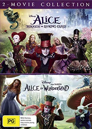 Alice In Wonderland / Alice Through The Looking Glass (DVD)