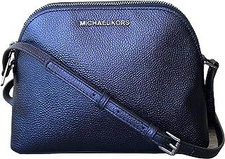 1fabedf0cef6 Michael Kors Adele Iridescent Leather Medium Dome Crossbody