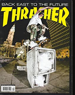 THRASHER MAGAZINE, BACK EAST TO THE FUTURE SEPTEMBER, 2018 ISSUE # 458