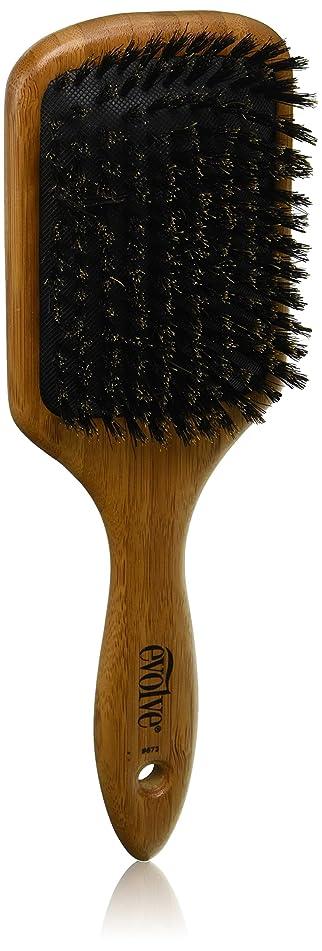 Evolve Cushion Paddle Bamboo Brush