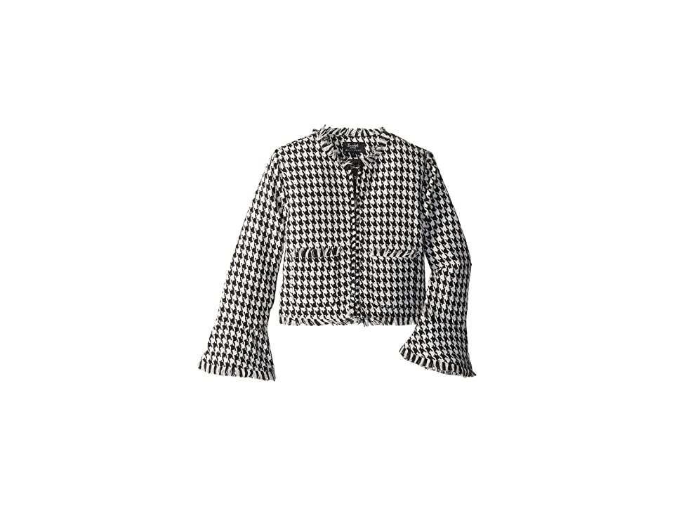 Bardot Junior Roma Boucle Jacket (Big Kids) (Houndstooth) Girl