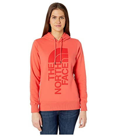 The North Face Trivert Pullover Hoodie (Cayenne Red) Women