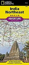 India, Northeast: Travel Maps International Adventure Map: 3012 (National Geographic Adventure Map)