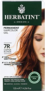 Herbatint 7R Permanent Herbal Copper Blonde Haircolor Gel Ki