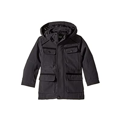 Urban Republic Kids Softshell Bonded Jacket (Toddler) (Pewter) Boy