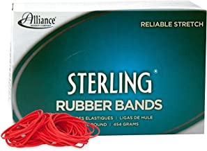 Alliance Rubber 94195 Sterling Rubber Bands Size #19, 1 lb Box Contains Approx. 1700 Bands (3 1/2