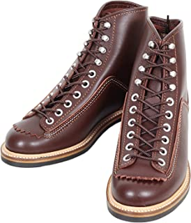 Sugar Cane Lone Wolf Mens Brown Leather Carpenter Boots CANE4450
