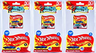 Worlds Smallest Series 4 Set of 3 Mini Cars - 1969 Turbofire - 2011 Twinduction - 2015 D-Muscle