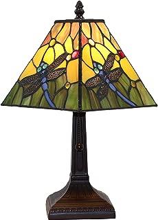Tiffany Style Mini Accent Lamp Mission 15