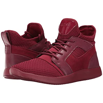 GUESS Caleb (Red Synthetic) Men