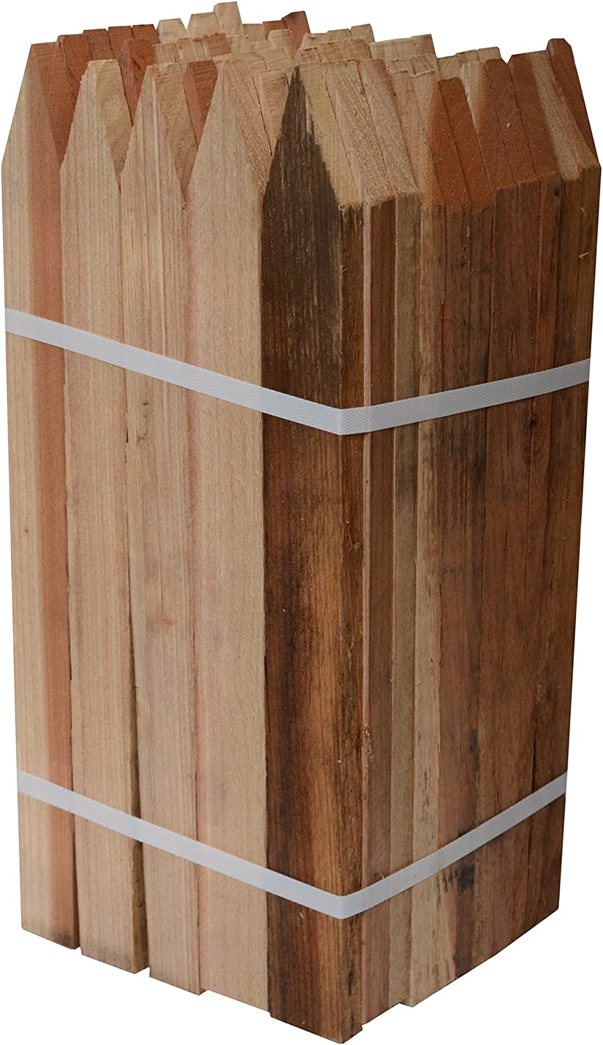 Easy-to-use Bond Manufacturing 442 18-Inch Stakes Garden Redwood 50-Pack Factory outlet