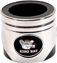 Motorhead Products Stainless Steel Piston Shaped Coozie, Hot Rod Kar Kulture Don Garlis King Rat Logo