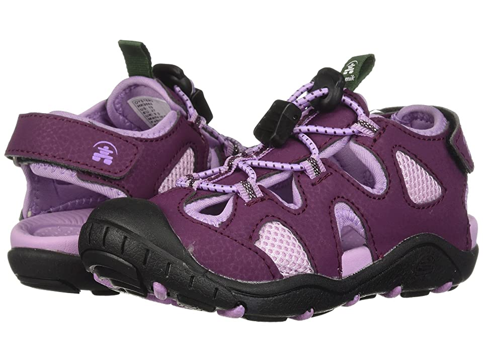 Kamik Kids Oyster 2 (Toddler/Little Kid/Big Kid) (Dark Purple) Girls Shoes