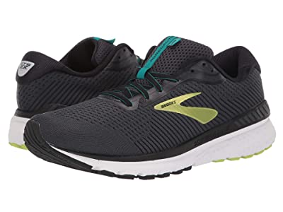 Brooks Adrenaline GTS 20 (Black/Lime/Blue Grass) Men