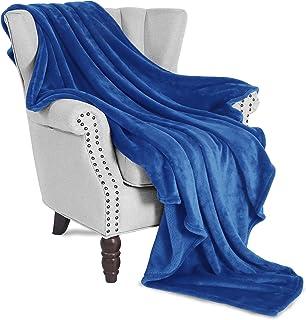"Exclusivo Mezcla Large Flannel Fleece Velvet Plush Throw Blanket– 50"" x 70"".."