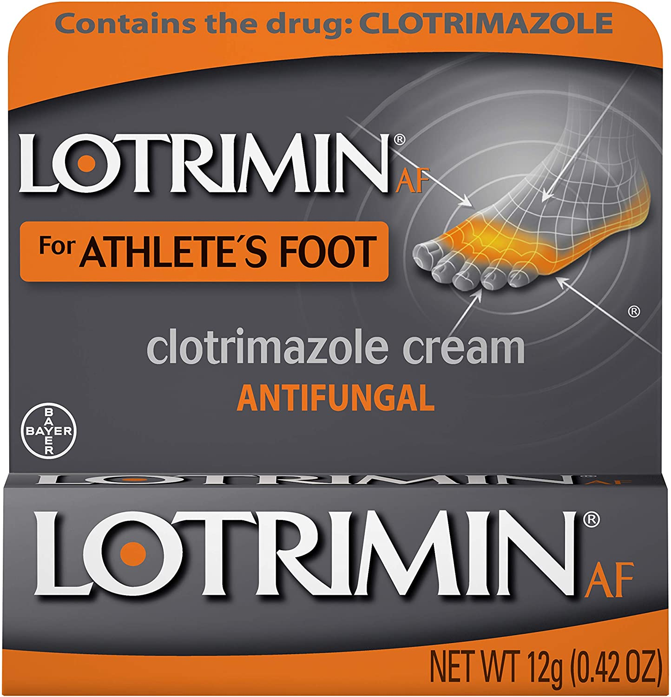 Lotrimin AF Antifungal Cream 0.42 Limited price Quantity limited sale oz g 12 3 of Pack