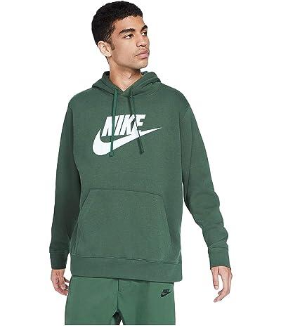 Nike NSW Club Hoodie Pullover Graphics (Galactic Jade/Galactic Jade) Men