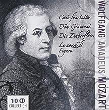 Mozart`s Operas: Cosi Fan Tutte / Don Giovanni / The Magic Flute / Le Nozze Di Figaro