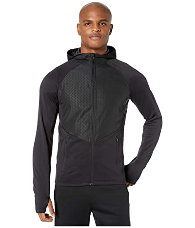 Craft Charge Full Zip Sweat Hood Jacket (Black) Men
