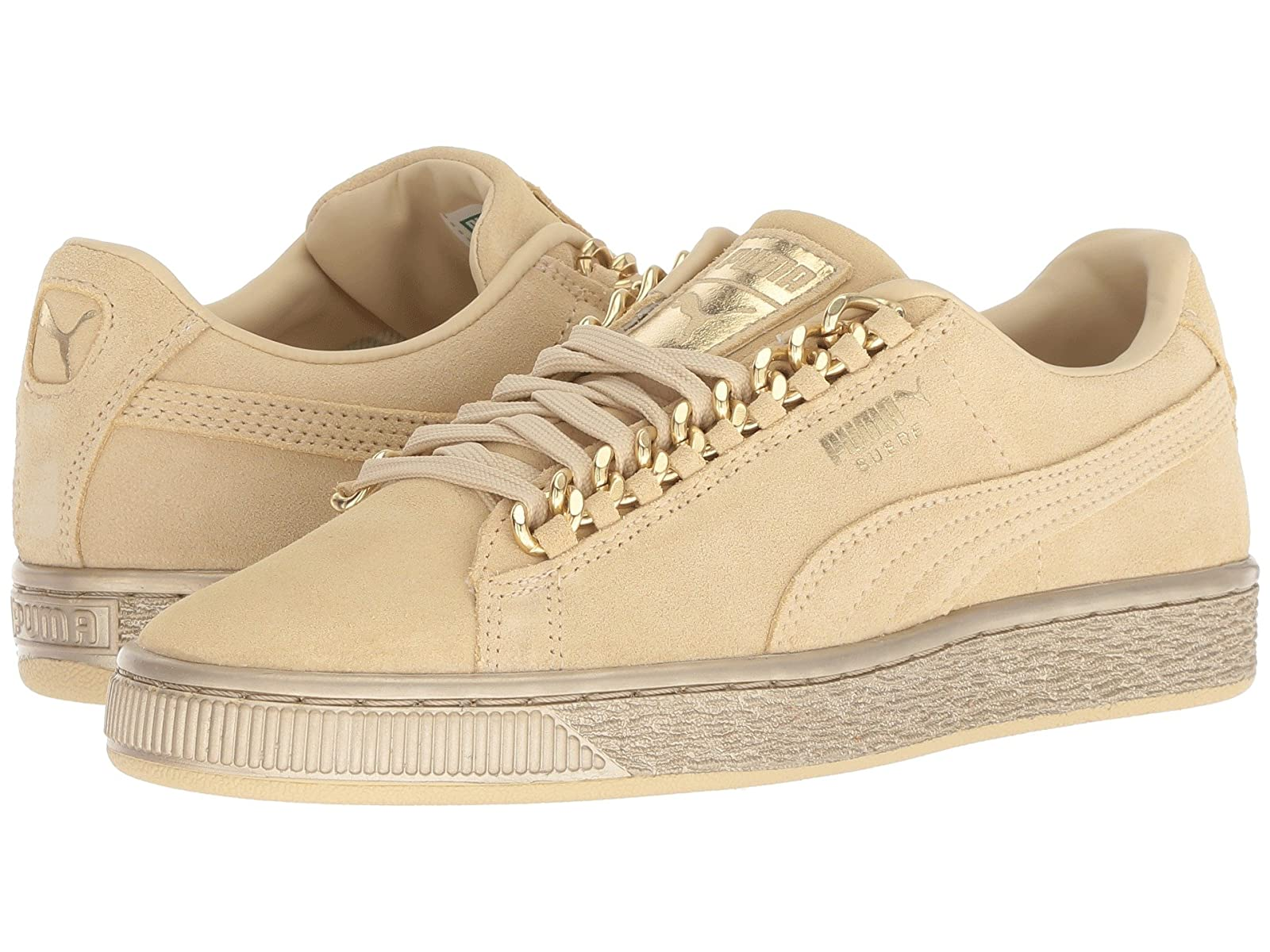 Puma Kids Suede Classic x Chain (Big Kid)Atmospheric grades have affordable shoes