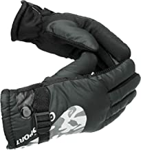 AlexVyan Winter And Riding Gloves For Men, Large - Black