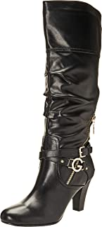 Best high heel black leather boots Reviews