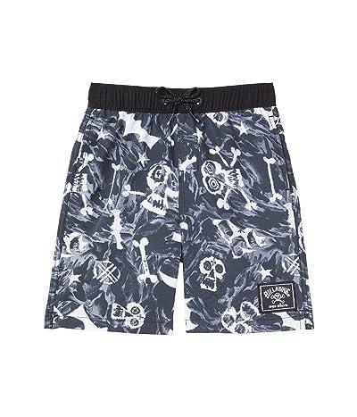 Billabong Kids Bad Billys Layback Swim Shorts (Toddler/Little Kids) Boy
