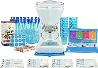 Little Snowie Max Snow Cone Machine - Premium Shaved Ice Maker, With Powder Sticks Syrup Mix, Entrepreneur Kit
