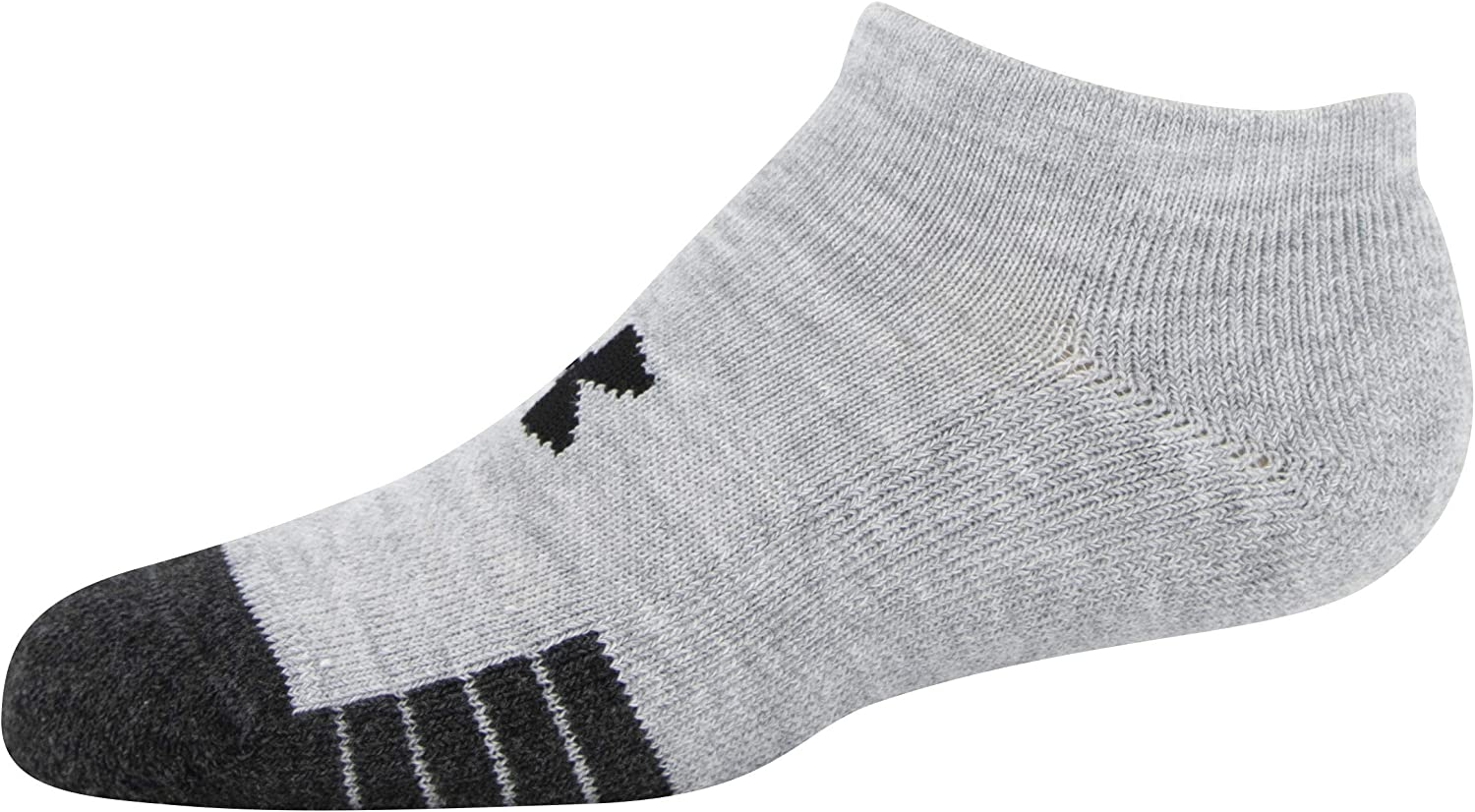 Under Armour Youth Performance Tech No Show Socks, 6-Pairs