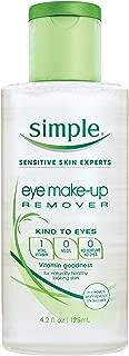 Simple Kind to Eyes Eye Makeup Remover, Eye Makeup Remover, 4.2 oz
