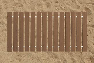 product image for Furniture Barn USA 2 Ft. Wide Roll-up Beach Walkway EverGrain Decking - Brown Weatherwood - 10 Ft. Length