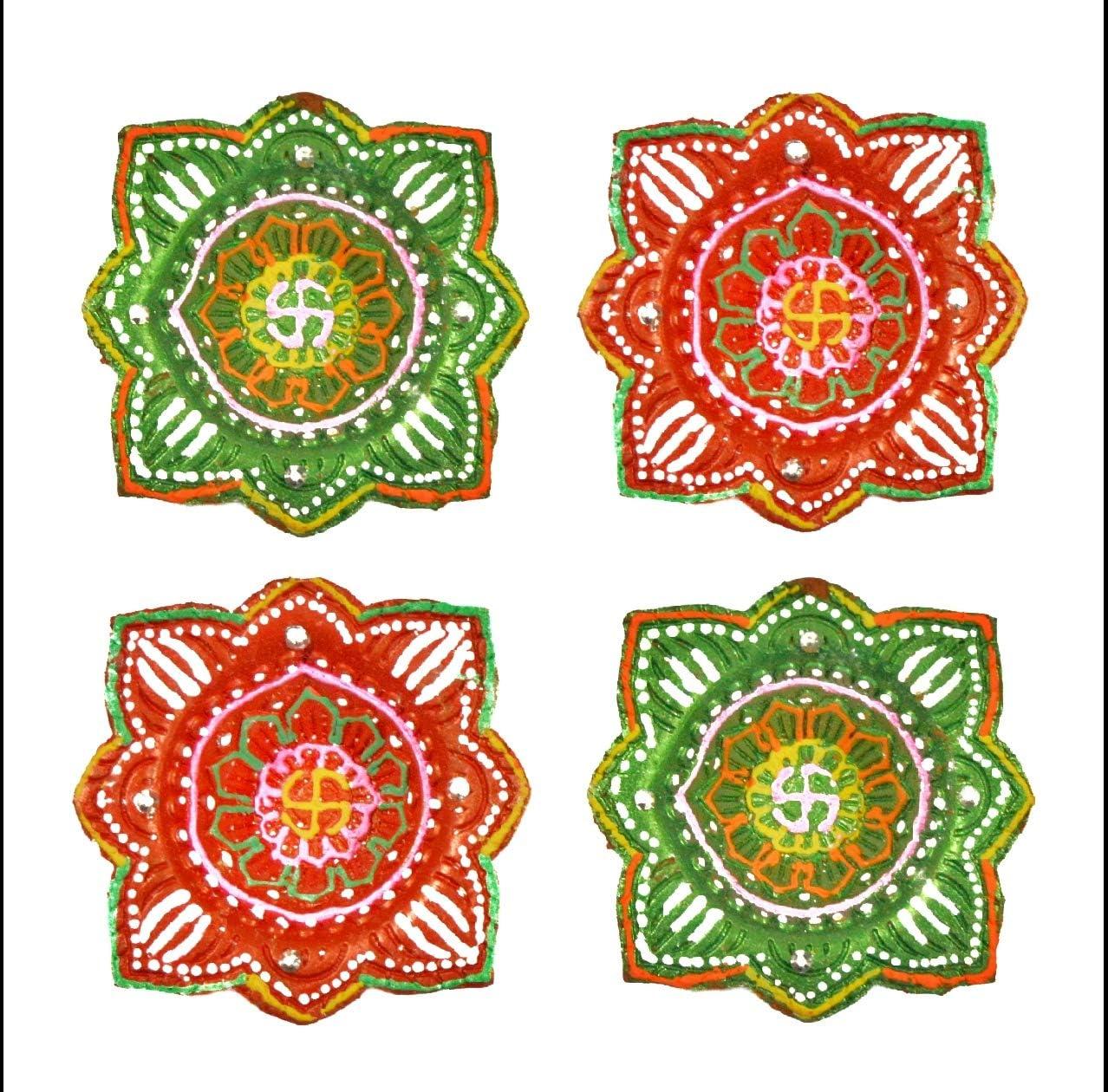 At the price of New products, world's highest quality popular! surprise Handicraft Storeroom Diwali Diya Set Tradi Earthen Handmade 4
