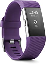 Fitbit Charge 2 Activity Tracker + Heart Rate Small Purple ( Renewed)