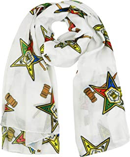 The Masonic Depot Past Matron Order of the Eastern Star Oversized Lightweight Long Scarf