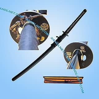 Musashi Full Tang 1090 Handmade Sharp Nobunaga Samurai Katana Sword W/Sword Box