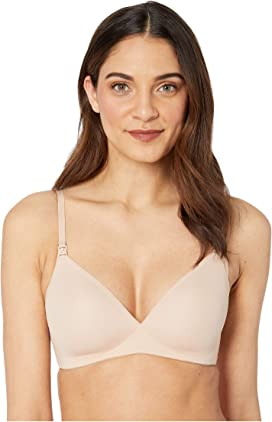 ff508dd150339 Natori Bliss Perfection Wireless Contour Nursing Bra at Zappos.com