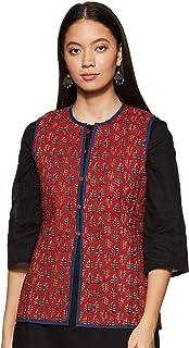 Rangriti Women's Jacket (RMMREVERSIB7540_Indigo_XS (32))
