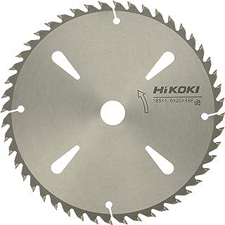 HiKOKI(ハイコーキ) 旧日立工機 チップソー 木材用 径185mm 穴径20mm 48枚刃 両側研磨 丸のこ、集じん丸のこ用 0098-7954