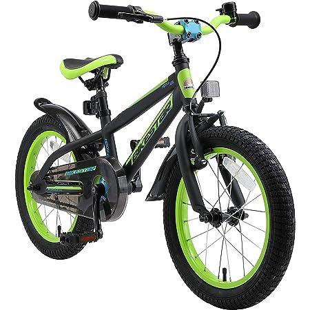"BIKESTAR Bicicleta Infantil para niños y niñas a Partir de 4 años | Bici de montaña 16 Pulgadas con Frenos | 16"" Edición Mountainbike"