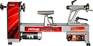 NOVA 46300 Comet II Variable Speed Mini Lathe 12-Inch x 16 1/2-Inch
