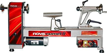 NOVA 46300 Comet II Variable Speed Mini Lathe 12-Inch x 16 1/2-Inch