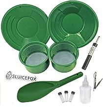 Sluice Fox 11 Piece Gold Panning Supplies Kit   Classifier Sifting Pan Set