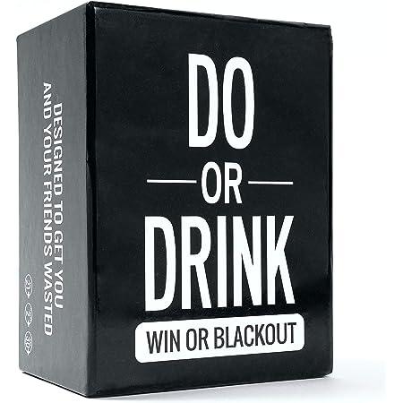 Do or Drink - 飲み会カードゲーム 大学 オンライン飲み 成人式 誕生日パーティ用 面白い 男女