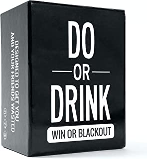 Do or Drink - Drinking Card Game for Adults - Fun & Dirty Party - Dare or Shots for Pre Drinks, Bucks Parties, Hen's Night...