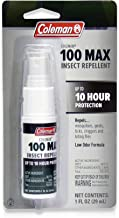 Coleman 100 Max 100% DEET Insect Repellent Pump for Ticks and Mosquitos